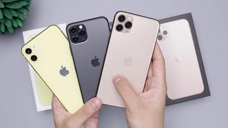 Bộ ba iPhone 11, iPhone 11 Pro và 11 Pro Max