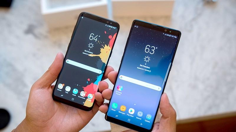 Cuối cùng Galaxy S8 và Galaxy Note 8 cũng được cập nhật Android 10