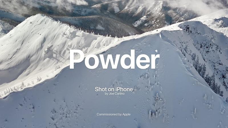 Apple vừa chia sẻ video mới có tên Powder