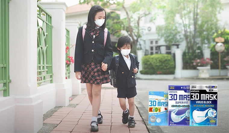 3D Mask Virus Block, lá chắn bảo vệ bạn khỏi virus