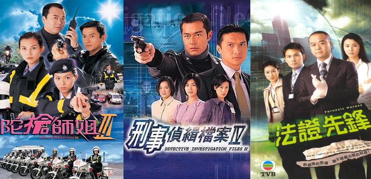 Top 10 bộ phim cảnh sát Hồng Kông, phim TVB đáng xem nhất