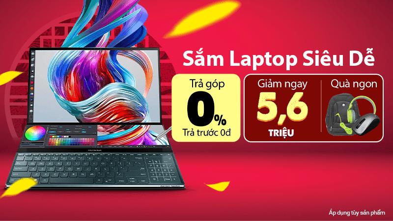 Laptop giảm giá