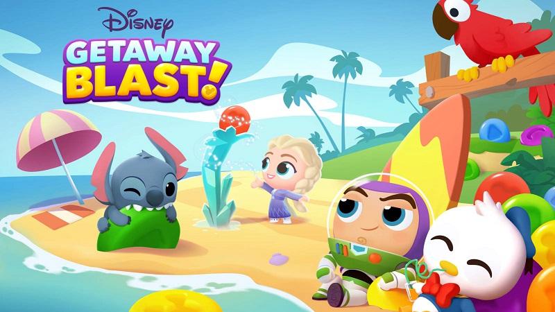 Hình ảnh trong game Disney Getaway Blast