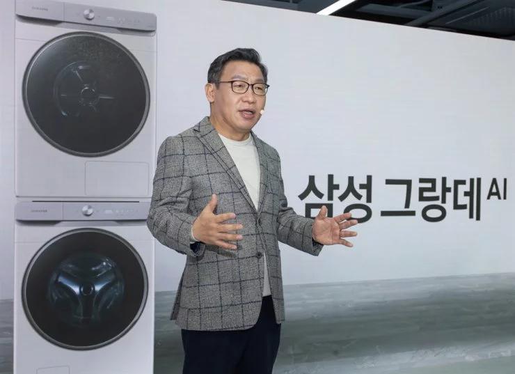 Samsung ra mắt máy giặt tích hợp máy sấy có trí tuệ nhân tạo Ai