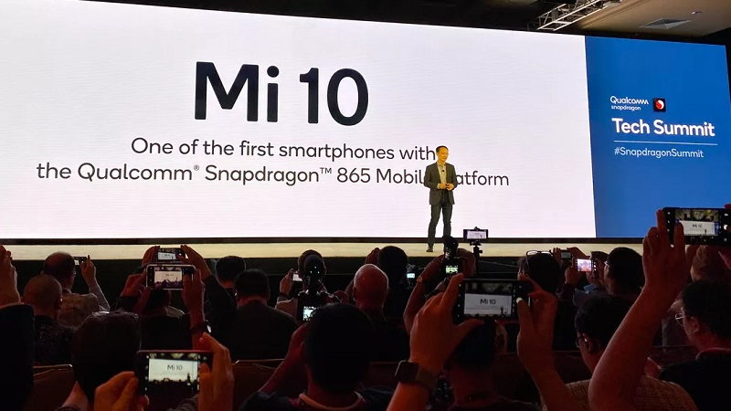 Chủ tịch Lin Bin tuyên bố Xiaomi sẽ là hãng di động đầu tiên trên thế giới dùng chip Snapdragon 865