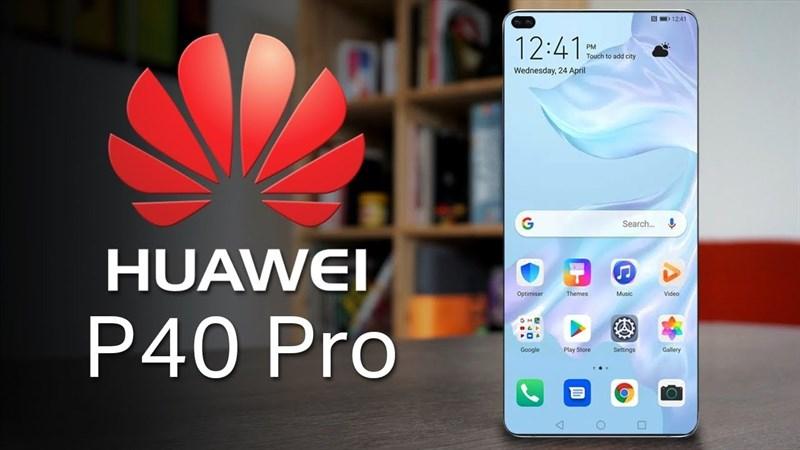 """Huawei P40 Pro pin 5.500 mAh lộ ảnh thực tế với viền cạnh màn hình """"mất hút"""""""