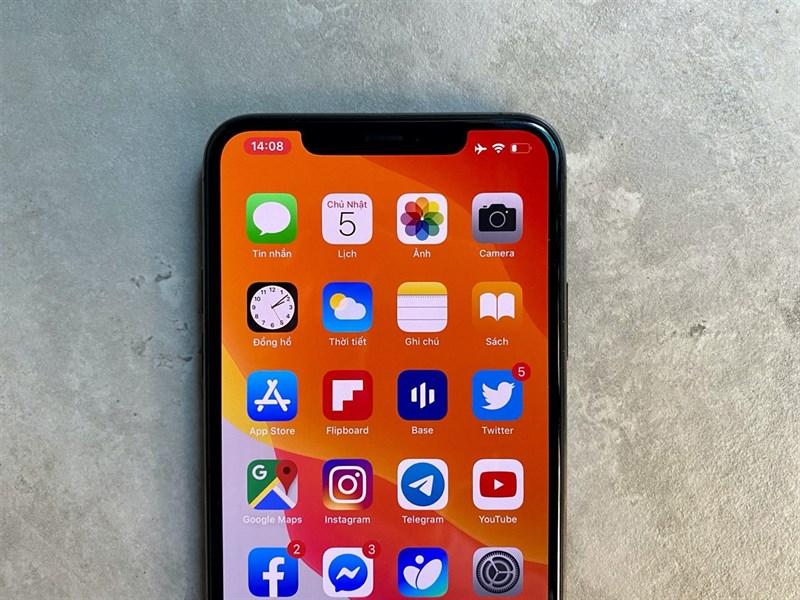 icon màu đỏ iPhone