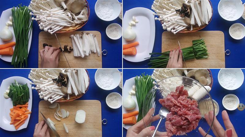 Cách nấu canh nấm thập cẩm thanh đạm và bổ dưỡng ngon ngất ngây