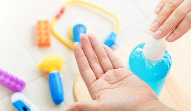 Chỉ cần lựa chọn sản phẩm chứa thành phần này là có thể thay thế nước rửa tay khô