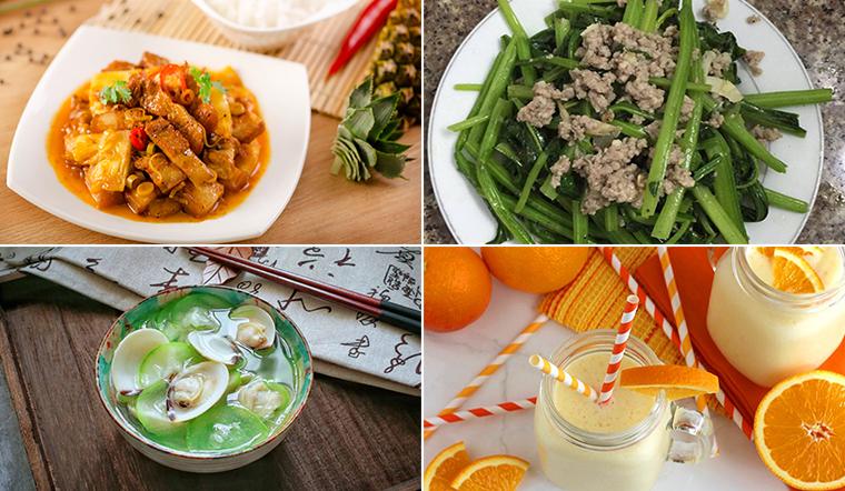 Mâm cơm đầy đủ dưỡng chất, giúp tăng cường sức đề kháng phòng ngừa virus Corona