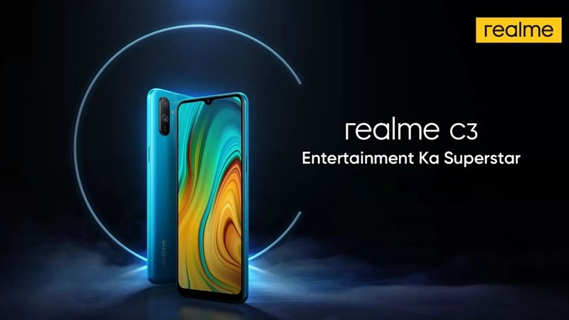 Realme C3 chính thức trình làng: Giao diện Realme UI, chip Helio G70, giá hơn 2 triệu