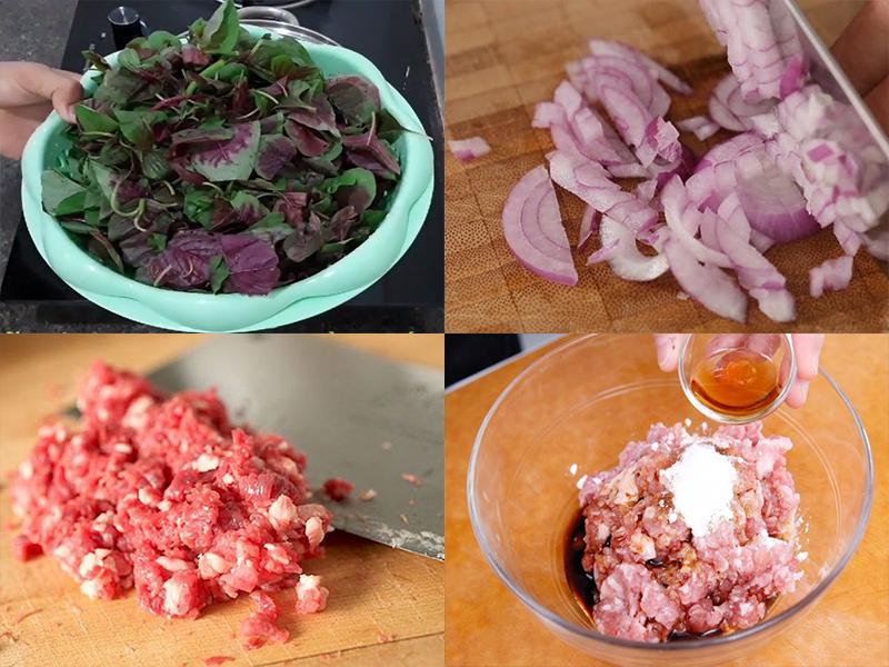 Canh rau dền thịt băm ngọt mát, dễ làm chỉ 15 phút