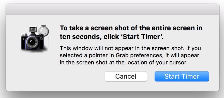 Sau khi ấn Start Timer, thì phần mềm sẽ bắt đầu đếm ngược 10s để bạn chuẩn bị trước khi bắt đầu chụp ảnh toàn màn hình