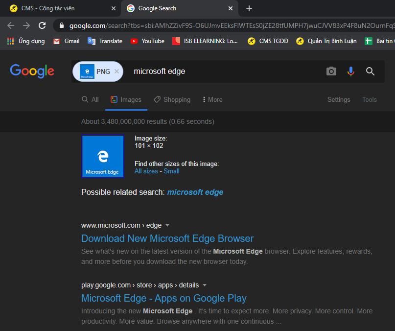 Chức năng tìm kiếm nhanh bằng Google Hình ảnh được hỗ trợ bởi Lightshot