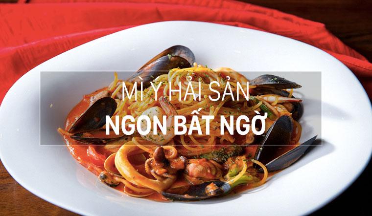Hướng dẫn làm mì ý hải sản không tanh mà còn ngon cực