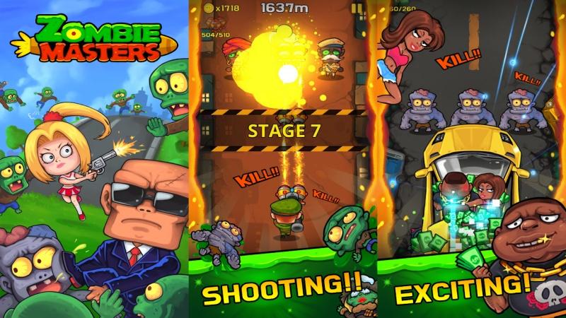 Hình ảnh trong game Zombie Masters