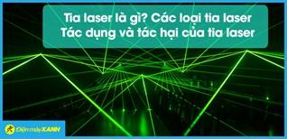 Tia laser là gì? Các loại tia laser, tác dụng và tác hại của tia laser