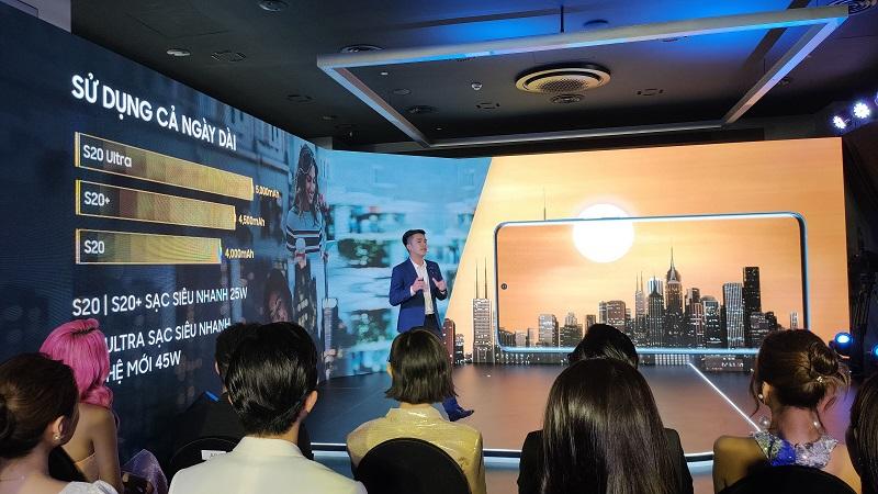 Galaxy S20 series chính thức ra mắt tại Việt Nam