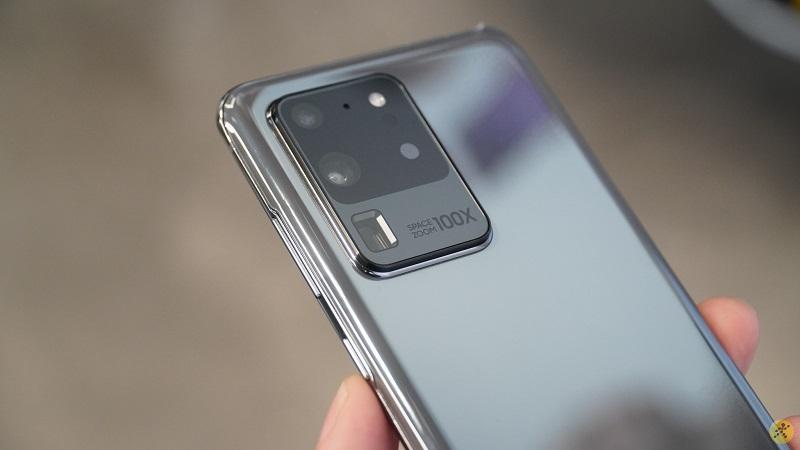 Cụm camera của Samsung Galaxy S20 Ultra
