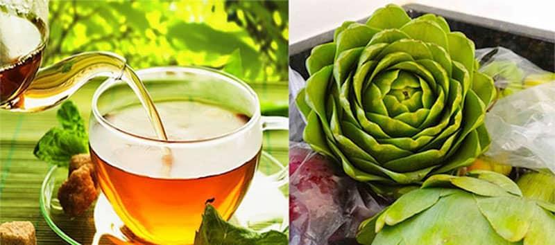 hoa atiso giúp cải thiện sức khỏe xương