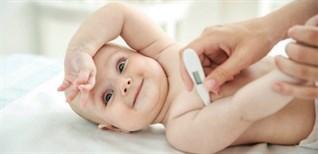 Mua nhiệt kế cho trẻ sơ sinh nên mua loại nào, mua ở đâu?