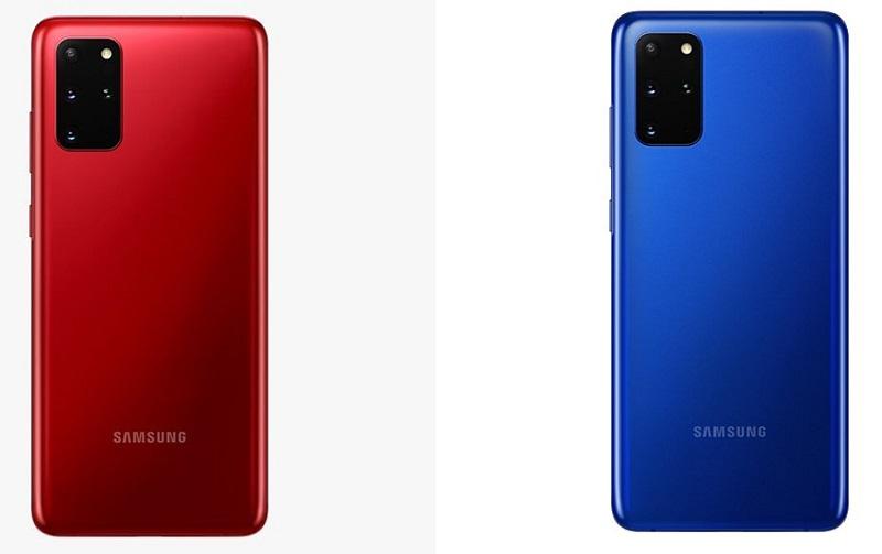 Galaxy S20 và Galaxy S20+ chuẩn bị có thêm ba màu mới