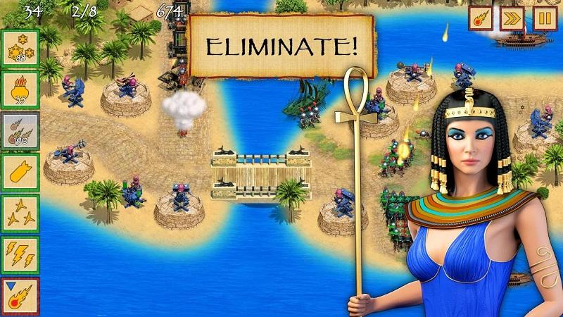Hình ảnh trong game Defense of Egypt TD Premium
