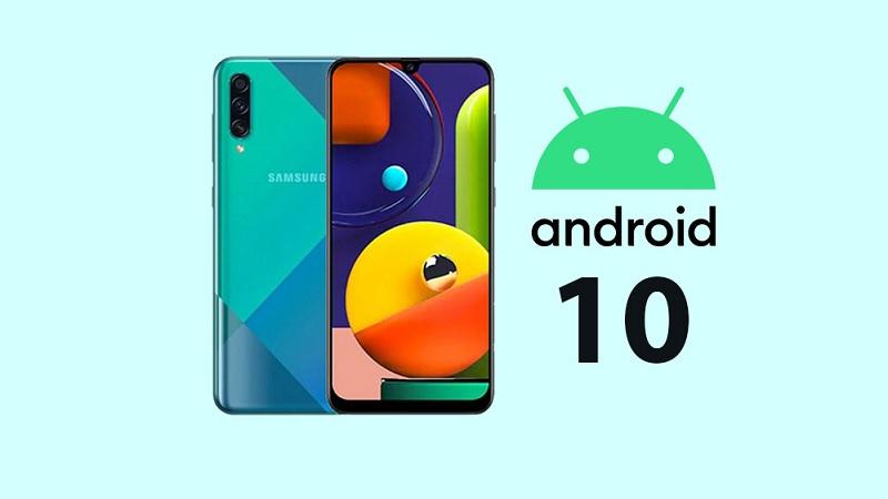 Galaxy A50s chính thức được 'lên đời' Android 10
