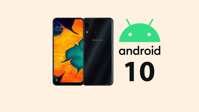 Galaxy A30 chính thức được cập nhật Android 10
