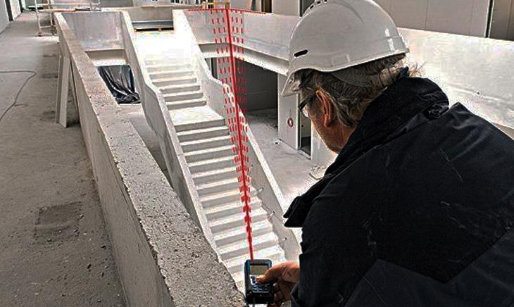 Tia laser trong công trình xây dựng