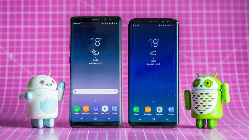 Samsung phát hành bản cập nhật tháng 2/2020 cho Galaxy S8/S8+ và Galaxy Note 8