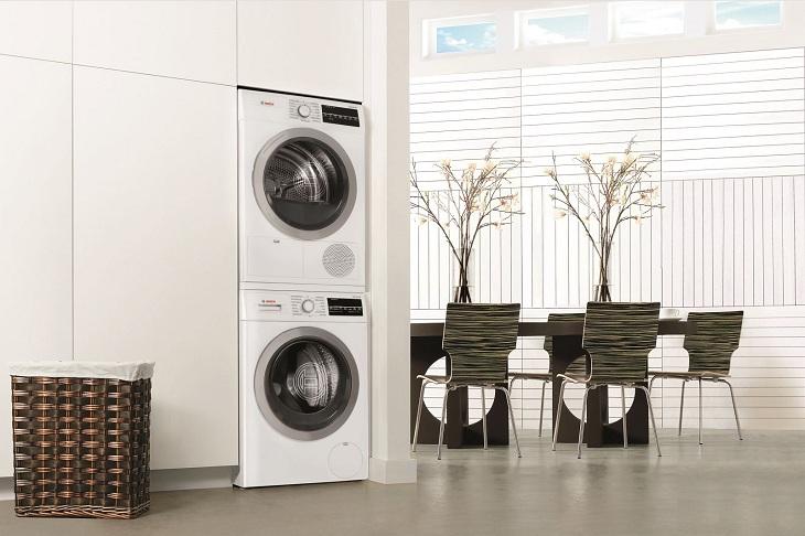 Hạn chế tình trạng rung, lắc của máy giặt