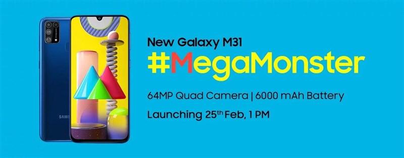 Galaxy M31 với 4 camera 64MP, pin 6.000mAh đã ấn định ngày ra mắt, hàng ngon thế này thì các bạn gom lúa đi là vừa
