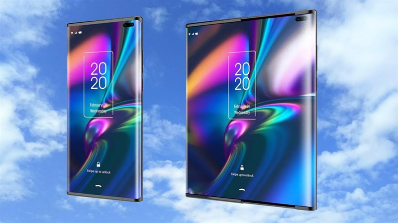 Không phải gập, TCL đang phát triển 1 smartphone với màn hình trượt để mở rộng, nhìn đã mắt thật