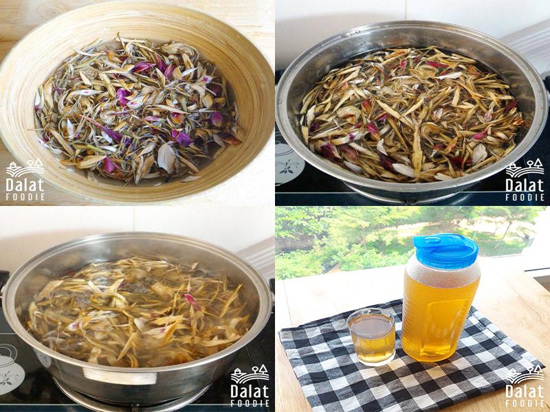 Cách nấu hoa atiso khô uống giúp thanh lọc cơ thể