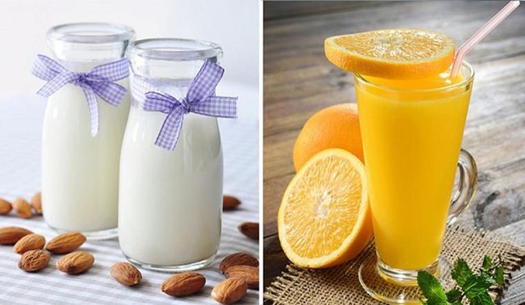Nước cam và sữa đều rất tốt nhưng có nên kết hợp với nhau?