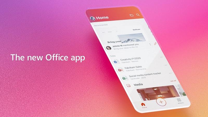 Microsoft phát hành ứng dụng Office 'All-In-One' cho iOS và Android