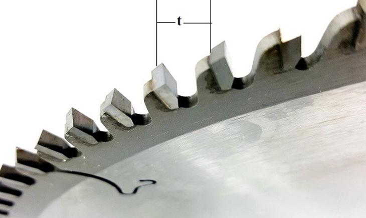 Phân loại lưỡi cưa hiện nay và cách chọn lưỡi cưa phù hợp - Khoảng cách giữa các răng cưa
