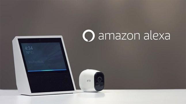 Các camera an ninh tương thích với Amazon Alexa