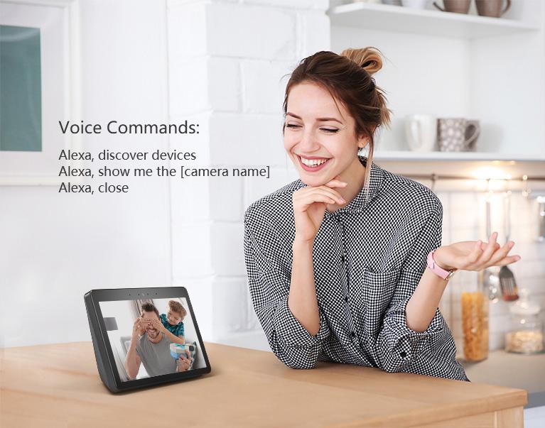 Cách xem hình ảnh của camera trên màn hình Amazon Echo Show
