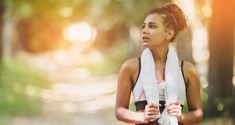 rèn luyện, tập thể dục để giảm cân
