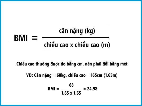 Cách đo và tính chỉ số BMI theo hướng dẫn của Viện Dinh dưỡng Quốc gia