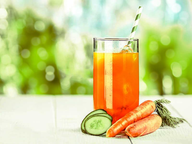 Cách làm nước ép dưa leo cà rốt giảm cân, đẹp da hiệu quả