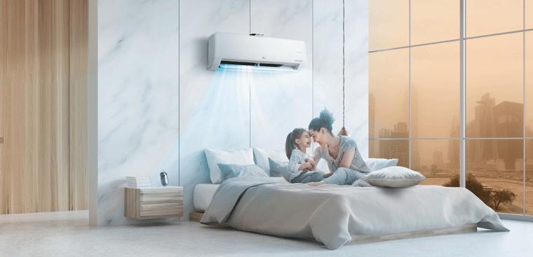 Bật chế độ ngủ để máy lạnh tự điều chỉnh nhiệt độ khi ngủ