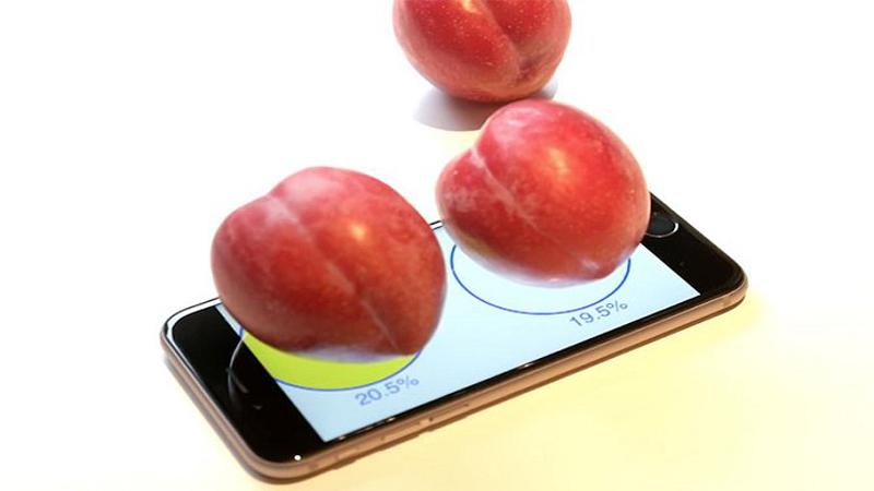 Dùng iPhone cân đồ vật