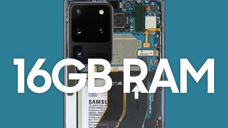 Thế này thì dùng sao cho hết! Samsung bắt đầu sản xuất hàng loạt bộ nhớ RAM LPDDR5 16GB dành cho thiết bị di động