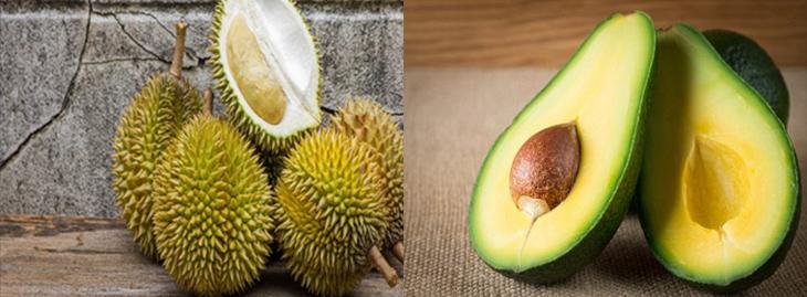Nguyên liệu món ăn sinh tố sầu riêng