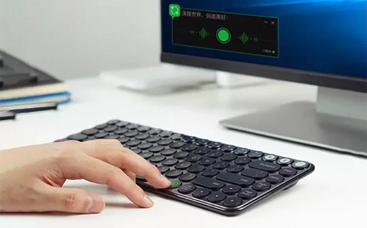 Elite Keyboard được trang bị nhập liệu bằng giọng nói