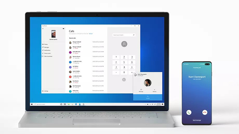 Ứng dụng Your Phone của Microsoft
