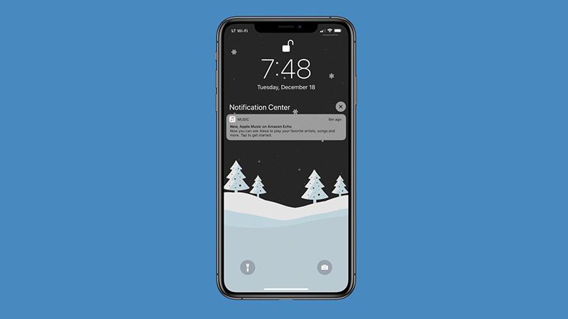 Apple Music gửi thông báo đẩy